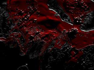 Какого цвета была кровь?