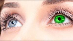 Разные глаза во сне