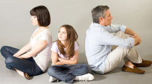 Скандал семейной пары