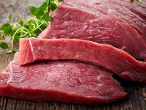 Сырое мясо без крови